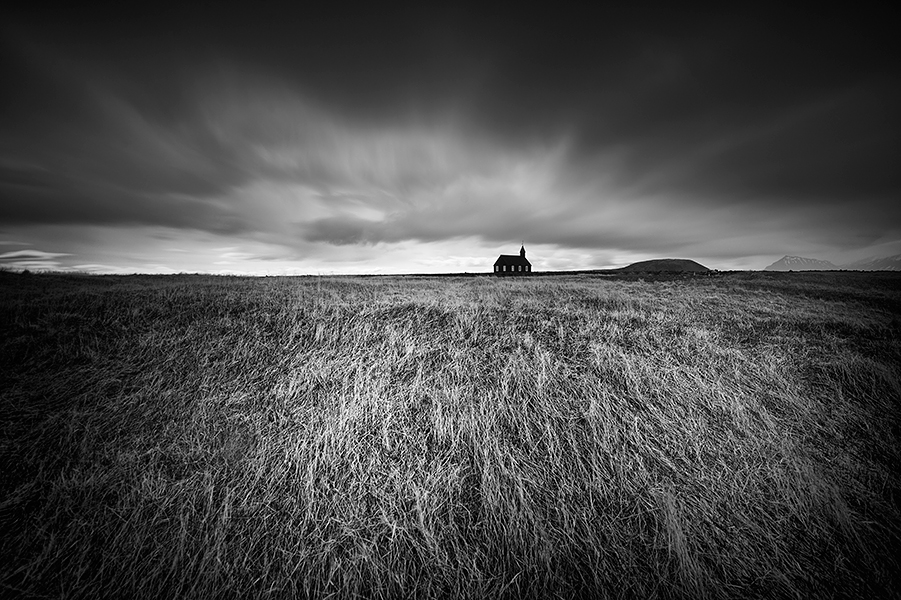 Church-near-Budir,-Iceland