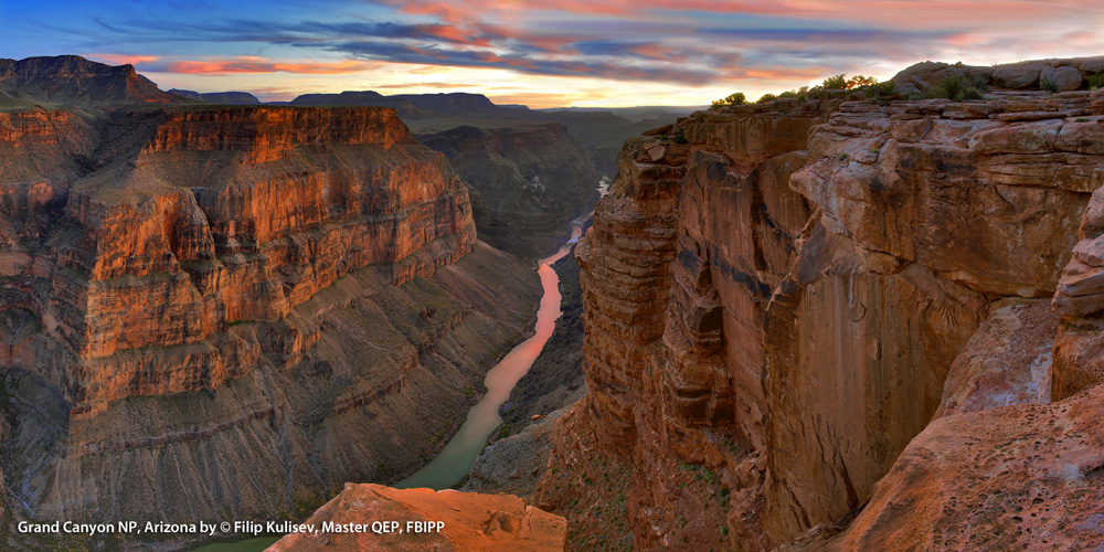 Grand Canyon NP, Arizona by © Filip Kulisev,Master QEP, FBIPP