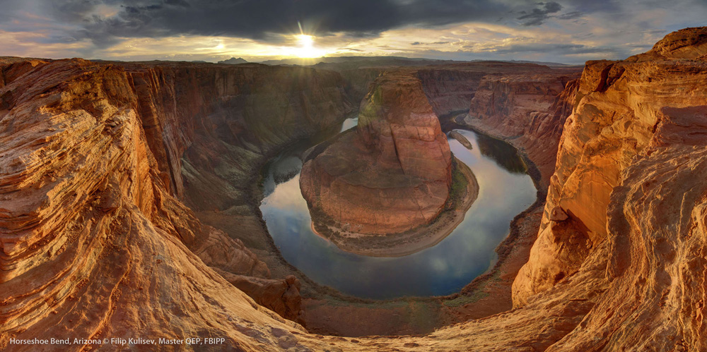 Horseshoe Bend, Arizona by © Filip Kulisev,Master QEP, FBIPP